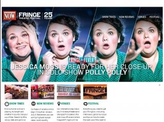 NOW Magazine's Fringe Micro-Site