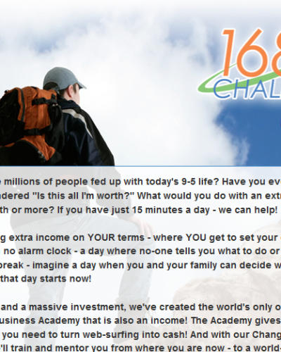 168 day challenge