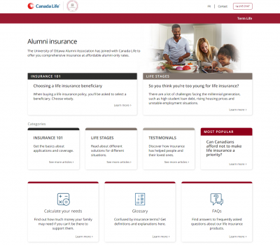 canadalifeinsure.ca University of Ottawa